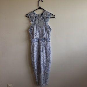 Lacey Blue Boohoo Dress